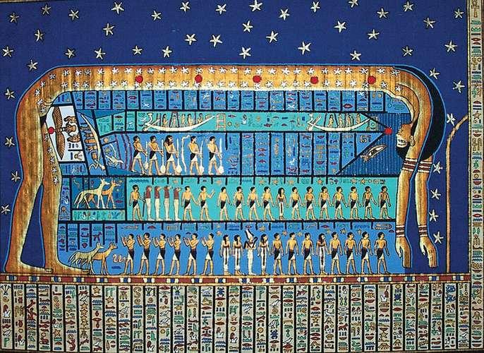 déesse égyptienne Nout